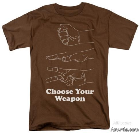 What would be your weapon of choice in a one on one Life or Death situation ?