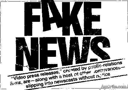 I don't use or support Fake News.