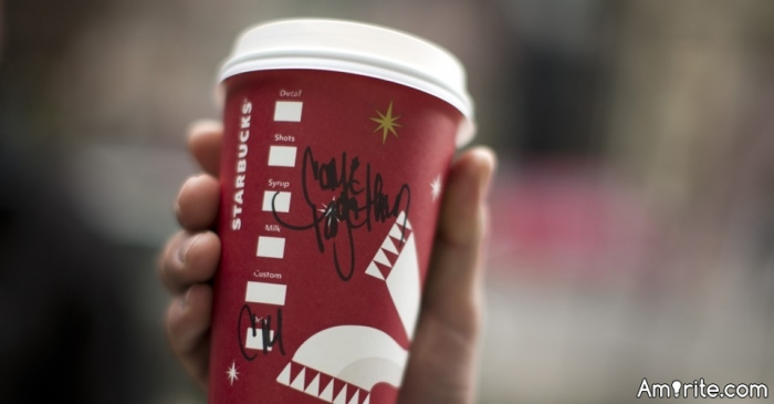 <b>Ever picked up the wrong coffee at Starbucks?</b> <em>It's fun and adds to the coffee experience...</em>