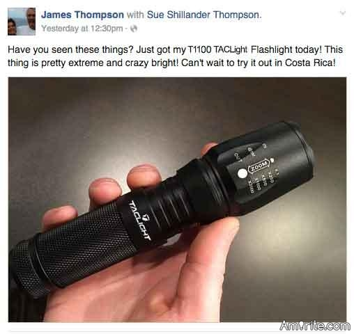 Would You Spend $56 For A Flashlight?