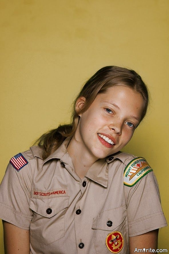 Girlscouts help develop better tomboys :)