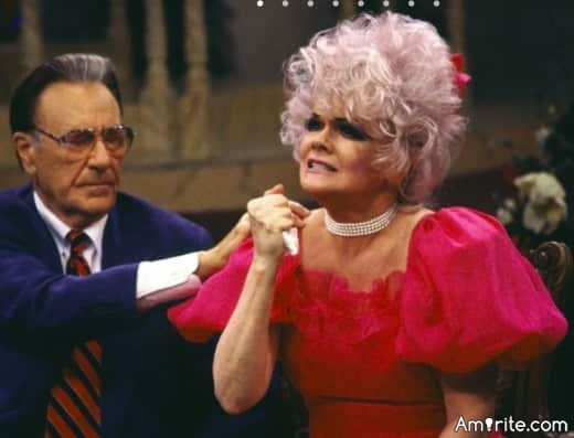 In your next life you have to be either a televangelist or a stripper... what's it gonna be?