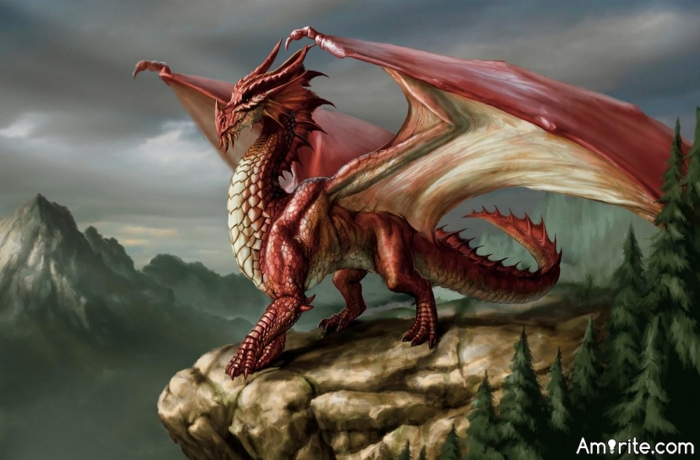 Dungeons & Dragons - why would you have dragons in dungeons? The only reason, why they are so pissed off, is because they have to live in such horrible conditions... Even I would breathe fire at that point.