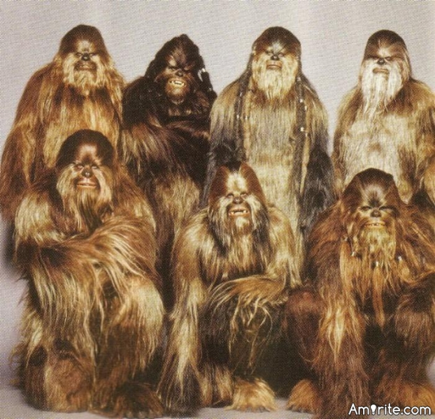Do you find wookies sexy?