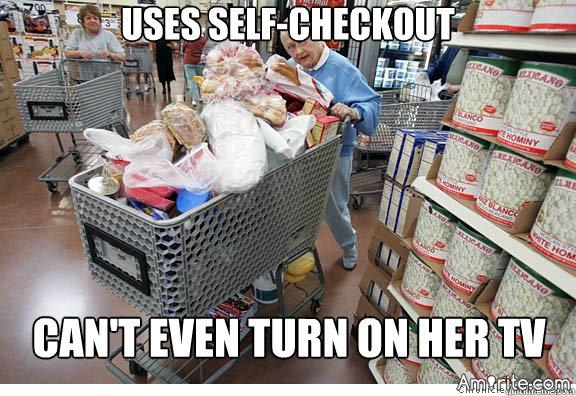 🐸 Stores should have a checkout line just for people who have their shit together. <em>amirite?</em>  🐸