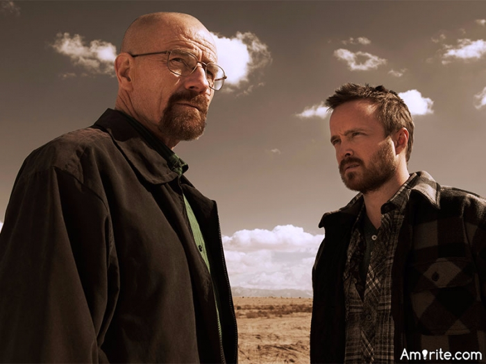 Breaking Bad is one of the best shows ever produced for television. Amirite? ...No SPOILERS please. Not everyone has watched all 5 seasons.