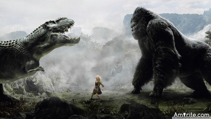 King Kong or Godzilla ? Who rules ?