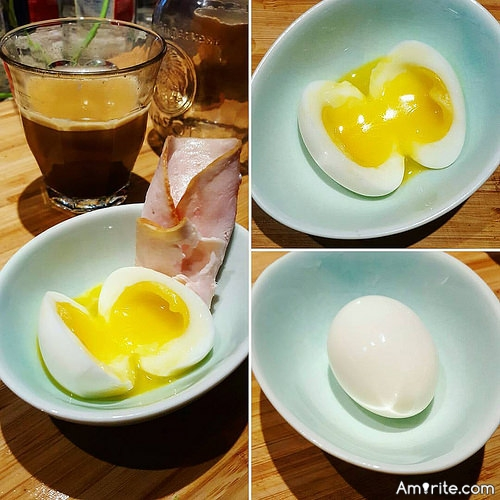 <b>How do you like your eggs?</b> <em>Over-easy, scrambled, fried soft or hard...poached...or boiled...</em> <b>Which is your pleasure?</b>