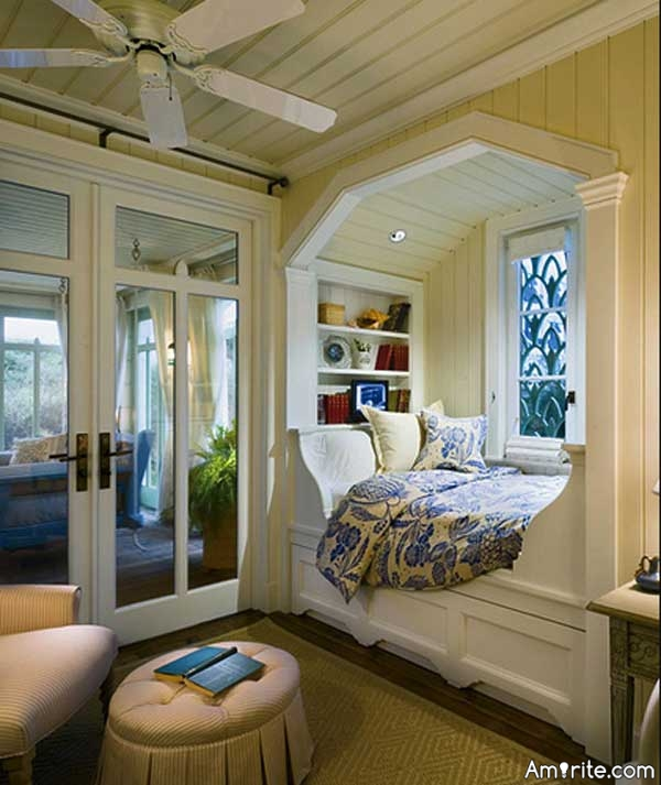 If you had a chance, would you like to have a reading nook in your house?