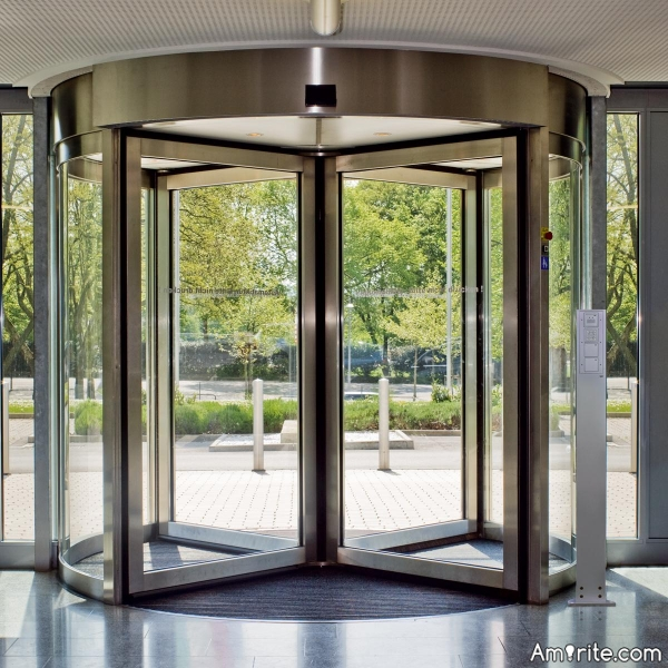 Have you ever got lost, when going through a revolving door?