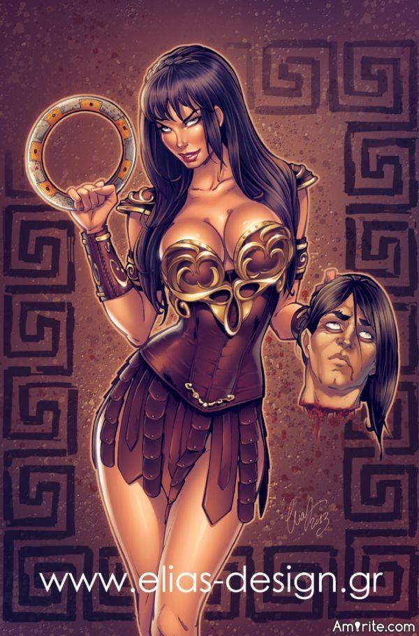 Xena is WAAAY cooler than Jason Bourne, GI JOE, Hercules, Conan, Rambo, Goku, and Jason Derulo combined!