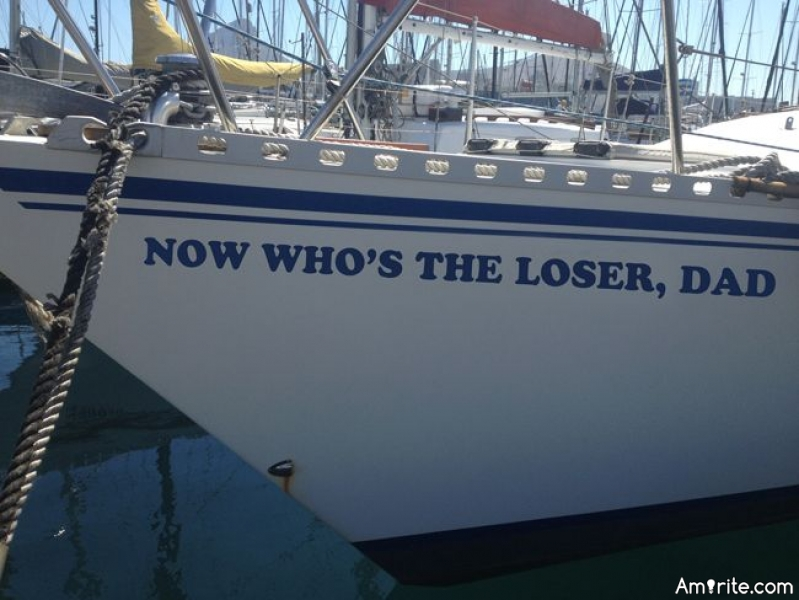 If you were to ever own a boat (or have owned one) what would you name it?