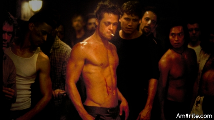 I'm toying around with the idea of starting a fight club.  Anyone interested?