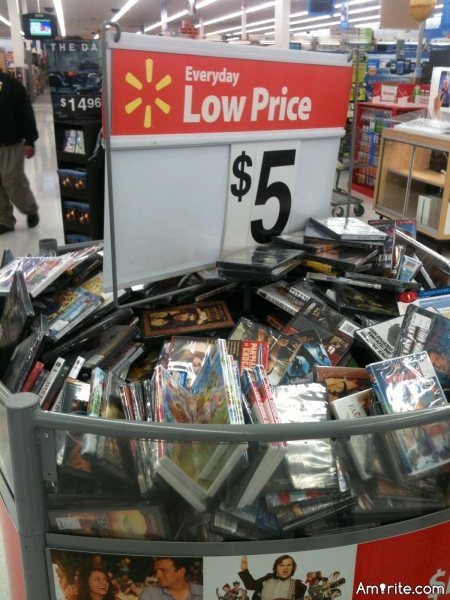 Sometimes I think the $5 movie bin has more organization than my life.