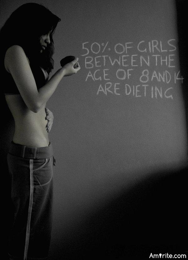 Is there too much pressure on young girls to get the perfect body....