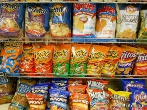 Your go-to nibbling snacks - - potato chips and onion dip OR tortilla chips and salsa?