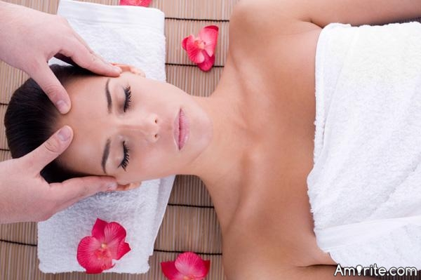 A day at a spa is equal to a week's vacation anywhere else.