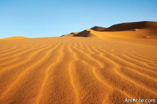Did you know, that there aren't any tsunamis in Sahara?