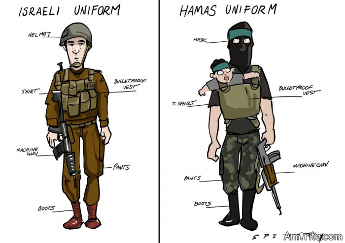 Do you understand the difference between an organized military engagement by the government of a country against another and non military attacks on civilians? Here's a hint, uniforms make a difference.