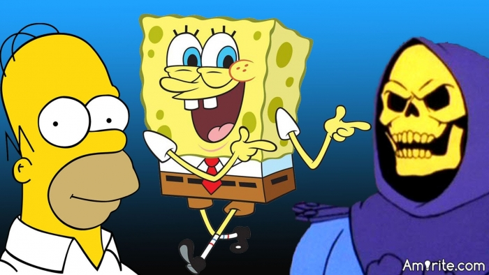 Who's your favorite cartoon character?