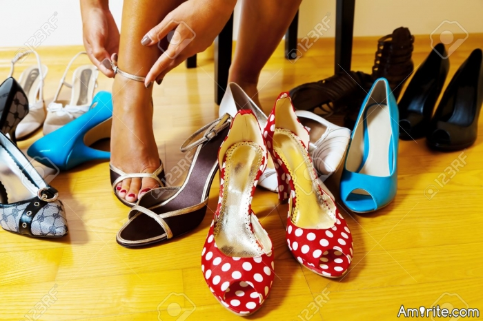 What kind of shoes to you like to wear?
