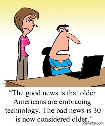 Good news and bad news.