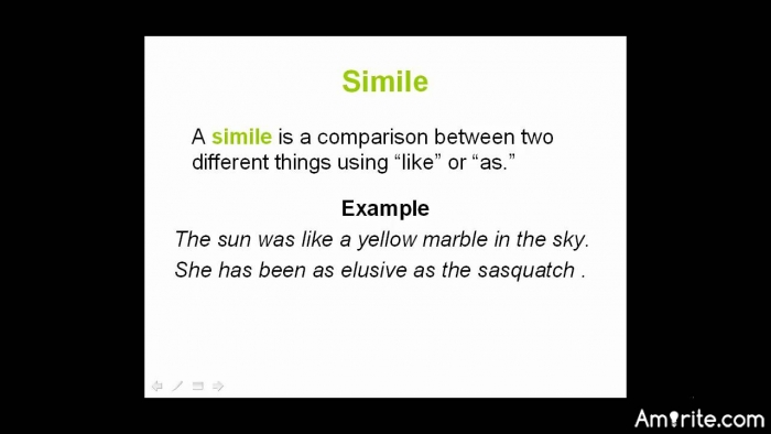 Can you come up with a sentence containing a smilie? <em>The lecture was as boring as watching paint dry.</em>