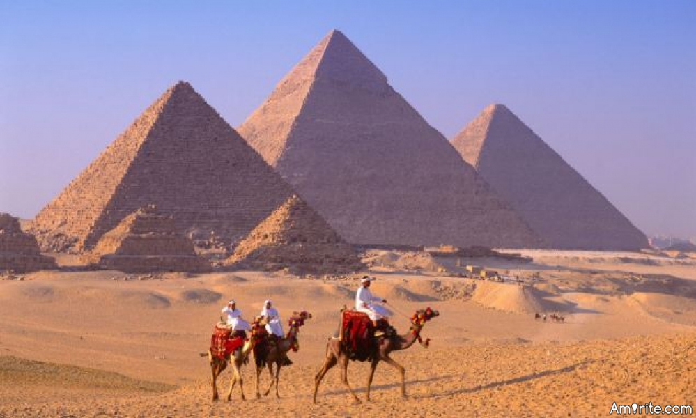 The pyramids. What were they used for and how were they built?