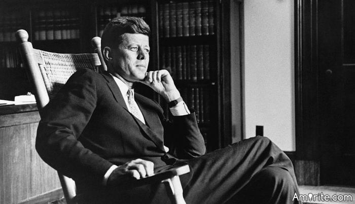 Those who make peaceful revolution impossible make violent revolution inevitable.  JFK