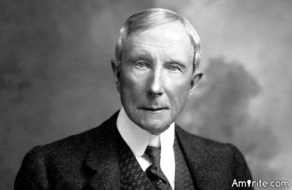 Good management consists in showing average people how to do the work of superior people. - John D. Rockefeller