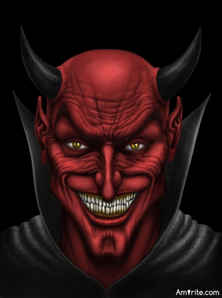 "If there is a ""Devil"" What do you think he would choose as his theme song?"
