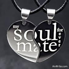 Imagine you have necklace with one half of a heart, and the person who has the other half is your soulmate. Who has that other half, or who would you want to have it?