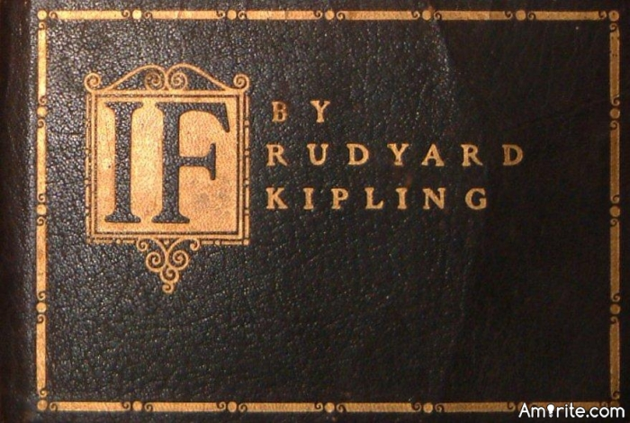 "Do you love poetry? What is your favourite poem? Mine is ""IF"" by Rudyard Kipling"