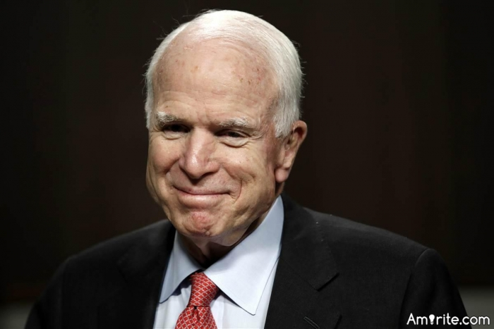 ☯️ It doesn't matter what side of politics you are on. Just kick cancer in the nuts, Senator McCain. We're all pulling for you. ☯️