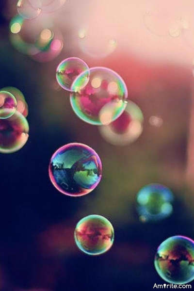 Why do you hate soap bubbles so much?
