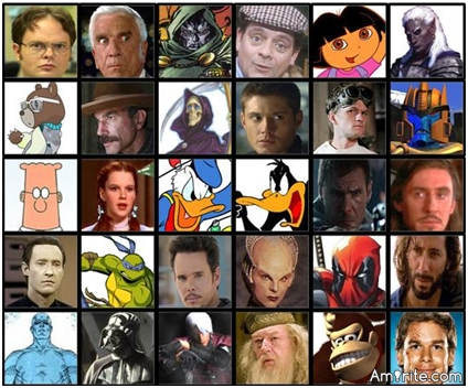 What fictional character do you identify with the most?