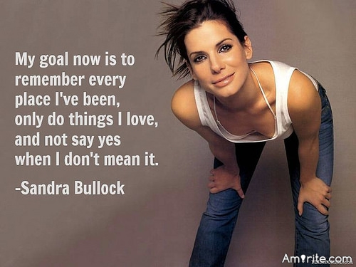 <b>I dislike Sandra Bullock as an actor.</b> <em>Is there someone you've taken a dislike for no reason?</em>