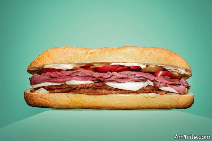 If you were to create the world's greatest sandwich, what would be the ingredients?
