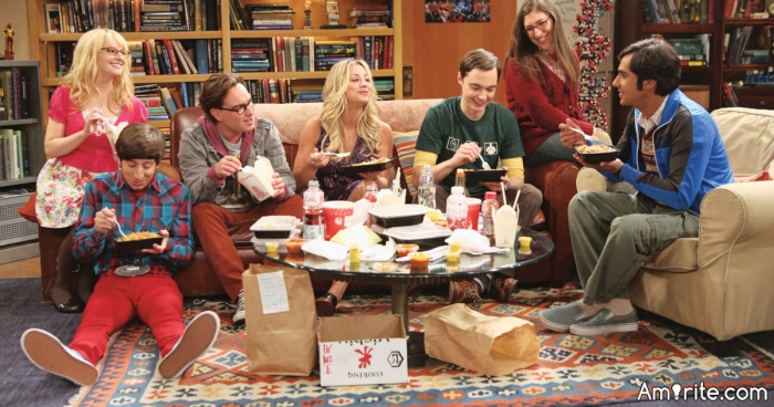 Which TV show will the gang on The Big Bang Theory never watch?