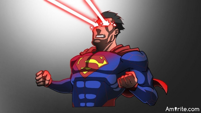 What happens, when Clark Kent is having a nightmare? Is he going to burn through his own eyelids with heat vision? Does he sleep airborne or is he getting himself a new bed every week, after something horrible has happened to the previous one?