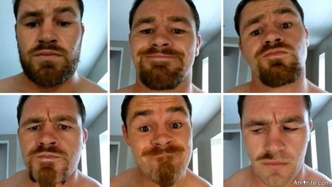 One of the fun things only we as men can do is trying out all kinds of beard styles while we shave, <strong>amirite?</strong>