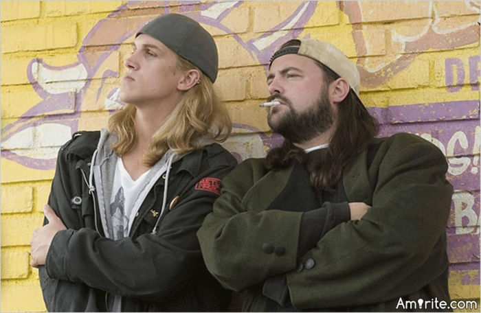 Jay and Silent Bob are awesome.