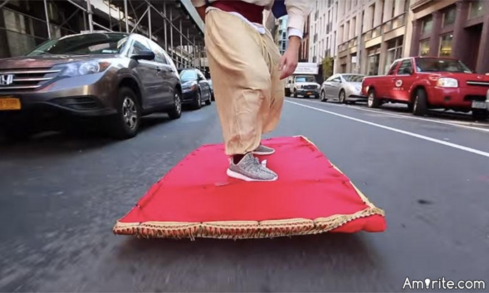 Do you have what it takes to fly a magic carpet?