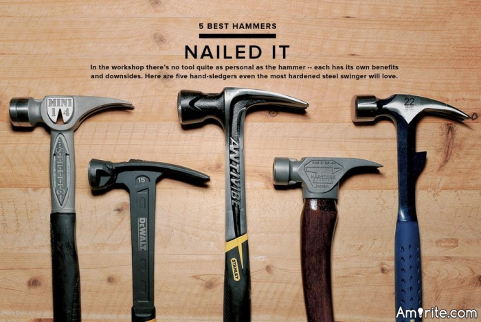 How many hammers do you own?