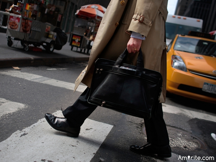 <b>Men need purses or at least knapsacks.</b> <em>Especially these days with electronic devices...</em>