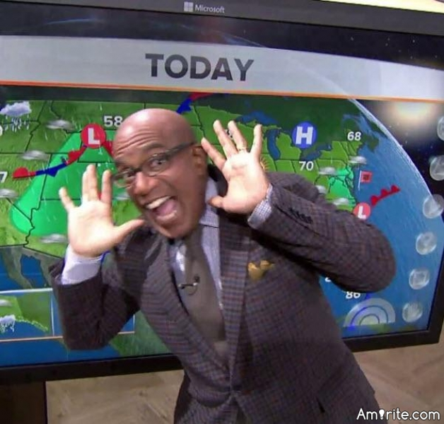 Did you know that beloved TV weather icon Al Roker does not have a degree in meteorology?