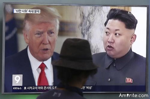 <b><em>Threatening</em> NK...now is that a good idea?</b>