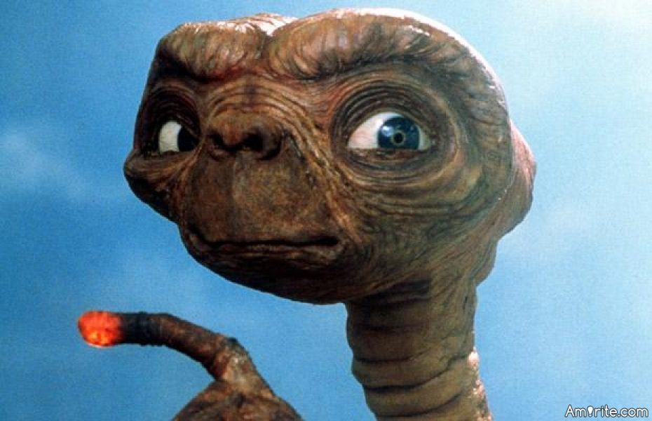 What is the real reason behind E.T.'s constant will to call home? **** lightfinger could have all the bread in the fridge.