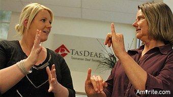 I can <em>still</em> see deaf people. I must be insane.