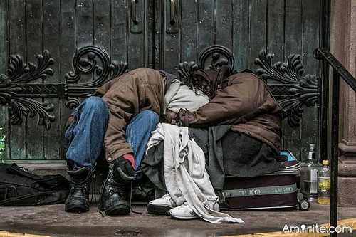 <b>If everything in life has meaning...even being homeless or abused...</b> <em>What say you?</em>